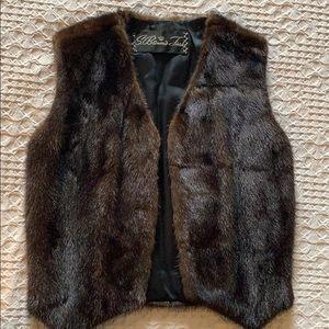 S. Baum's Furs vintage mink vest